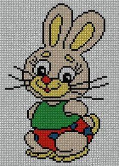 C2c, Cross Stitch, Cartoon, Fictional Characters, Animals, Image, Cross Stitch Embroidery, Tricot, Punto Cruz