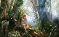 Anime Backgrounds Forest