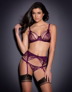 Naughty Lingerie by Agent Provocateur - Tanya Suspender