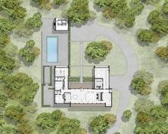 Specht Harpman have designed the New Canaan Residence in Connecticut.