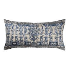 GAVIN RAJAH BAHIA SCATTER 30x60cm Seaside Getaway, Scatter Cushions, Perfect Fit, Bed Pillows, Portugal, Tapestry, Blue, Beautiful, Bahia