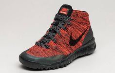 Coming soon. Nike Flyknit Trainer Chukka Bright Red Womens.  http://ift.tt/1IWIO1c