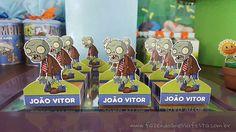 Bis 3D Festa Infantil Plants vs Zombies