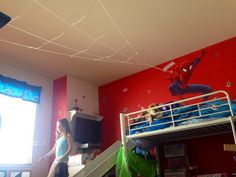 Spiderman room