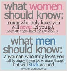 Men & Women should know these things..!!