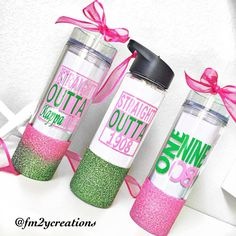 Alpha Kappa Alpha Sorority Inc. Inspired by LetsPartyCreations