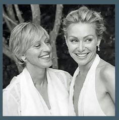 Ellen and wife Portia