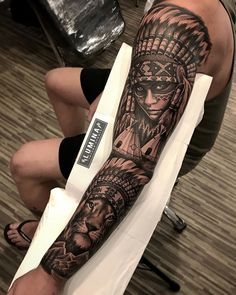 egypt done today lumina tattoo studio with brother nickmono 352406739590823893 Native Indian Tattoos, Indian Girl Tattoos, Native American Tattoos, Hand Tattoos, Forarm Tattoos, Forearm Tattoo Men, Tattoo On Leg Men, Tattoos Masculinas, Forearm Tattoo Design