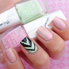 """""""Supercute nail art by talented @nailsbyic  #isadora #nailart #beauty #trend"""""""