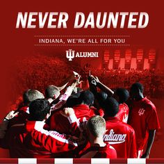 It's Indiana. It's tradition and passion. Win or lose, it's who we are as alumni. We are IU! http://alumni.indiana.edu
