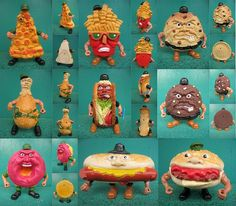 Food Fighters by Mattel