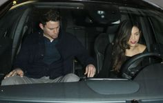 Couple Channing Tatum and Jenna Dewan leaving Madeo restaurant in West Hollywood, California on March 14, 2014.
