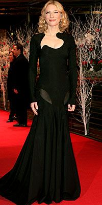 "Cate Blanchett in Givenchy Couture for the premiere of ""The Good German"" (2007 Berlin International Film Festival)"