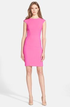 Ted Baker London 'Jineen' Texture Panel Sheath Dress available at #Nordstrom