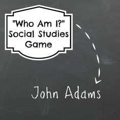 Social Studies Games - Who Am I? Educational Game
