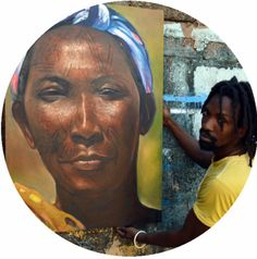 My very good friend / Artist and lover in Maputo, Mozambique.