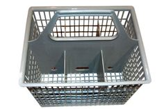 GE WD28X265 Dishwasher Silverware Basket by GE. $11.74. From the Manufacturer                General Electric WD28X265 GE Dishwasher Silverware Basket is common in GE, Hotpoint and other brand dishwashers. This has a 2-piece, snap-apart silverware basket and has 2 hinged covers to hold smaller items.                                    Product Description                This is a GE BSKT SILV TI part number WD28X265.