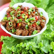 Asian Beef Lettuce Wraps 100 of the Best Low Carb Recipes Slow Cooker Recipes, Low Carb Recipes, Crockpot Recipes, Chicken Recipes, Cooking Recipes, Healthy Recipes, Yummy Recipes, Recipies, Healthy Wraps