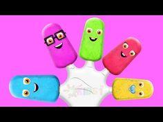 The Finger Family Ice Cream Family Nursery Rhyme   Ice Cream Finger Family Songs  - Vidinterest