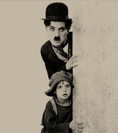 Chaplin and Jackie Coogan, who would go on to play Uncle Fester on the TV show Addams Family. He was such a cutie!