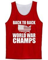 Back to Back World War Champs' Pinnie