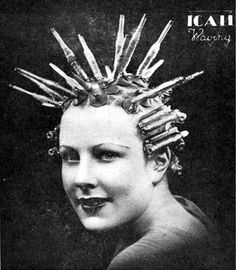 Nessler's Permanent Wave Machine Retronaut | Retronaut - See the past like you wouldn't believe.