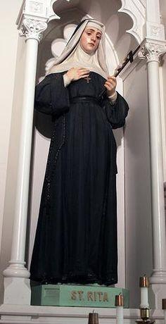 St Rita of Cascia | www.saintnook.com/saints/ritaofcascia |