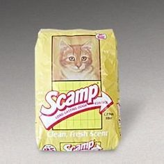 GOLDEN CAT COMPANY 260001 Scamp Cat Litter Bag 25Pound * Click image for more details.