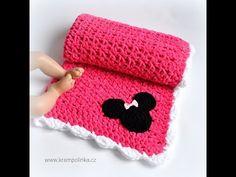 Baby Blanket Crochet, Crochet Baby, Beanie, Velvet, Youtube, Free, Beanies, Crochet For Baby, Youtubers