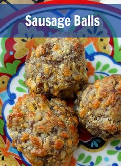 Repinned: This is an amazing Sausage Balls Recipe for Labor Day! Easy to make, only 4 ingredients and everyone at ANY party will thank you for them!