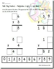 Need a new way for your students to work on multiplication? FREE Multiplication Puzzle.