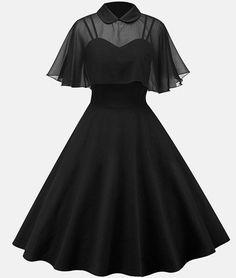 Black Tea Length Prom Dress , Charming Prom Dress - Black Tea Length Prom Dress , Charming Prom Dress Source by Innenarchtektur - Pin Up Dresses, Women's Dresses, Vintage Dresses, Short Dresses, Fashion Dresses, Party Dresses, Bride Dresses, Simple Dresses, Wedding Dresses