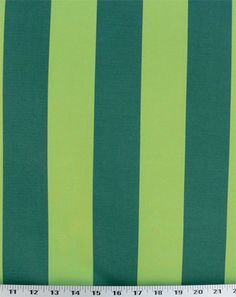 Wide Stripe Green - Indoor / Outdoor | Online Discount Drapery Fabrics and Upholstery Fabric Superstore!