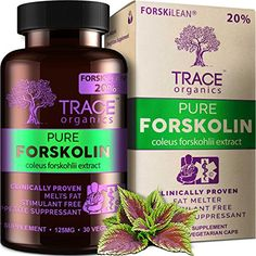 WANT TO LOSE WEIGHT FAST? Pure Forskolin Extract APPETITE SUPPRESSANT Weight Loss Products Burn Belly Fat. Best Diet Pills 2016 Trace Organics