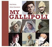 My Gallipoli by Ruth Starke.  Book Week 2016 / Book of the Year Notables List / Eve Pownall Award for Information Books. Miss Jenny's Classroom