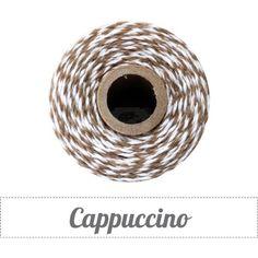 Cordao Fino Bakers Twine Cappuccino