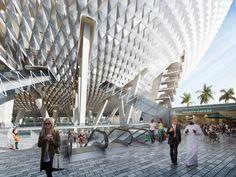 Galería de Perkins+Will diseñará el estadio más grande de los Emiratos Árabes…