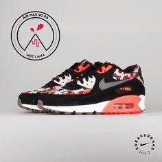 #nike #airmax90 #hotlava #sneakerbaas #baasbovenbaas  Nike Air Max 90 PA'Hot Lava'- The Nike Air Max 90 is now available in a sick, 'Hot Lava/Light Bone'-colorway. The colorful pattern is placed on the toebox, heeltab.  Now online available | Priced at 149.99 EU | Men Sizes 41- 45 EU |