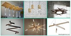 We continue our journey into the fascinating universe of contemporary design applied to furnishing accessories are unique to say the least and we will do so on this occasion to show a carefully selected range of architecturally significant modern wooden chandeliers well-defined character. If you love natural materials, including wood, and at the same time
