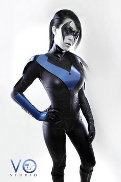 Lady Nightwing Cosplay Batman Arkham City Version by *VampBeauty