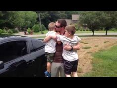 """[VIDEO] Boy Surprised By The News of His Soldier Dad Returning, Prepares for Welcome Home  