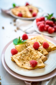 Soft and easy Low Carb Crepes with almond flour will let you achieve the thinnest Crepes possible. Perfect idea for Breakfast Dinner or as Dessert. Simple to make Gluten-Free Grain-Free Keto perfect for Diabetics Flourless Keto Crepes are here for all. Low Carb Appetizers, Low Carb Desserts, Low Carb Recipes, Snack Recipes, Dessert Recipes, Ketogenic Recipes, Paleo Recipes, Sweet Recipes, Easy Recipes