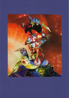 Akrobaten (Collage)