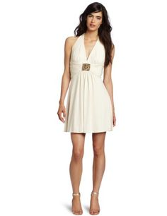Max and Cleo Women`s Halter Lina Dress $111.78