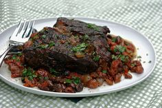 Slow Cooker Italian Pot Roast with Sun-dried Tomatoes & Kalamata Olives