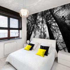 Fototapeta mroczny las Bed, Furniture, Home Decor, Decoration Home, Stream Bed, Room Decor, Home Furnishings, Beds, Home Interior Design