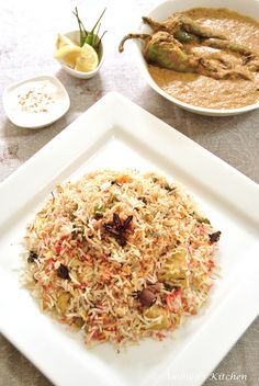 Hyderabadi Vegetable Dum Biryani @Ambika's Kitchen