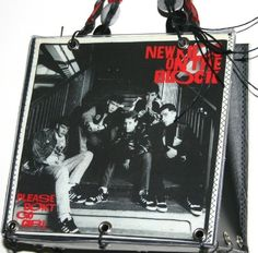 New Kids On The Block Record Cover Handbag By by rocknrecycle, $22.95