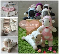 Sock Sheep Tutorial