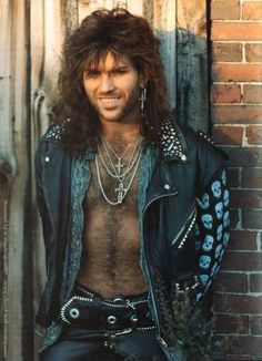 A sexy Kip Winger. Those were the days! Big Hair Bands, Hair Metal Bands, Pretty Men, Beautiful Men, Beautiful People, Gorgeous Guys, 80s Hair Metal, 80s Rock Bands, Rock And Roll Fantasy